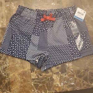 Infant Girl's Shorts elastic waist